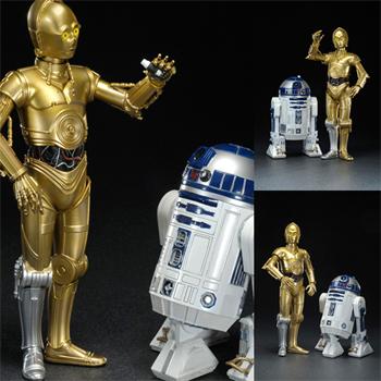 KOTOBUKIYA1/10 PVC 도색완성품 ARTFX 스타워즈 R2 D2 C 3PO[재판]