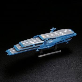 BANDAI[BANDAI] 1/1000 우주전함 야마토 가이페론급 다층식 항주모함 슈델그