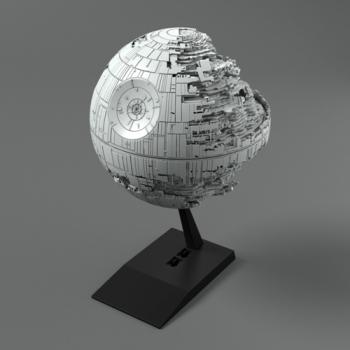 [반다이 프라모델] 스타워즈 비클모델013 1/2700000 데스스타2